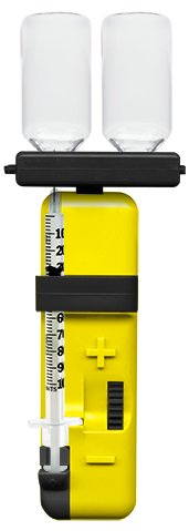 Prodigy Count-a-Dose automated insulin syringe for the blind and visually impaired