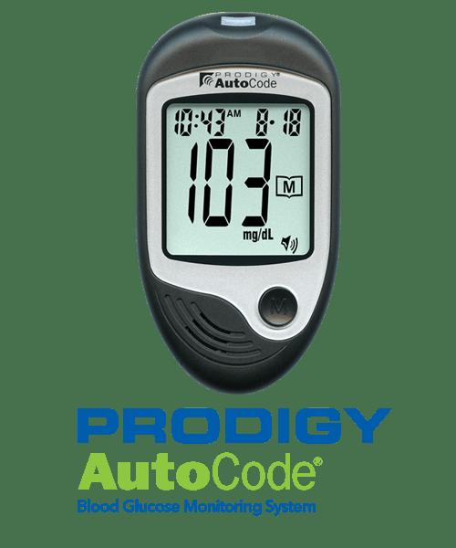 Prodigy AutoCode No-Code Talking Glucometer