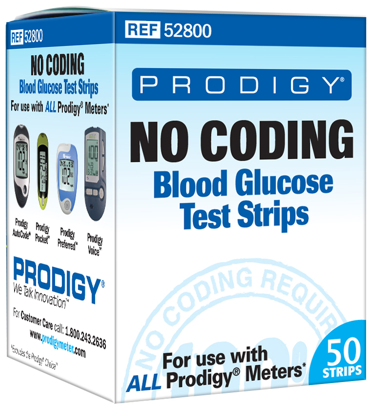 Prodigy 52800 Test Strips - Box
