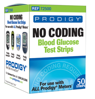 Prodigy 72500 Test Strips